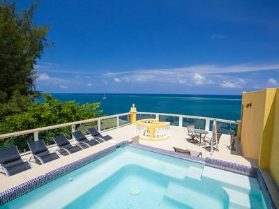 Photo for Large Beachfront 3BR Penthouse w/Private Rooftop & Plunge Pool