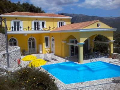 Photo for SPECTACULAR SEA VIEWS,PRIVATE POOL,STUNNING LOCATION, SLEEPS 10,CLOSE TO BEACH