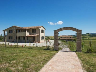 Photo for Holiday apartment Volterra for 6 - 8 persons with 3 bedrooms - Holiday apartment in a farmhouse