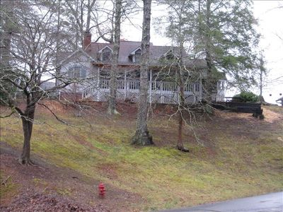 Photo for Charming Bear Paw Cabin with Spectacular View of Lake Hiwassee