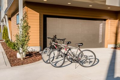 Great for exploring the neighborhood, guests will have access to two bicycles.