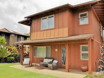 Photo for Hidden Gem! 3 Bedroom / 2.5 Bath with A/C close to Kona, Keauhou. Walk to Ocean