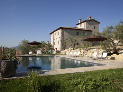 Photo for Luxury villa just 14 km from Florence. Sleeps 16 with hydromassage, sauna & gym!