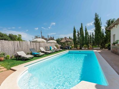 Photo for This 5-bedroom villa for up to 9 guests is located in Manacor and has a private swimming pool and Wi