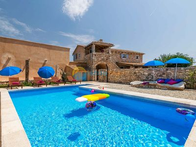 Photo for Villa 1852/22479 (Istria - Barban), Pets welcome, 12500m from the beach