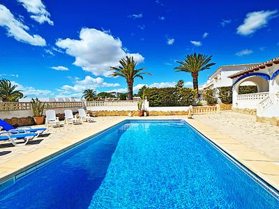 Photo for Vacation home La Sabatera in Moraira - 8 persons, 4 bedrooms