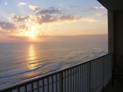 Photo for Beachfront Condo with beach service!