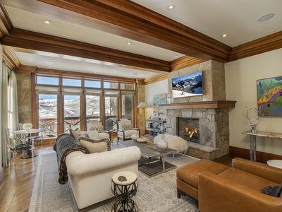 Photo for Luxurious Ski-In Ski-Out Forest Condo