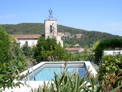 Photo for T2 on the ground floor of a villa in the heart of a typical Provencal village
