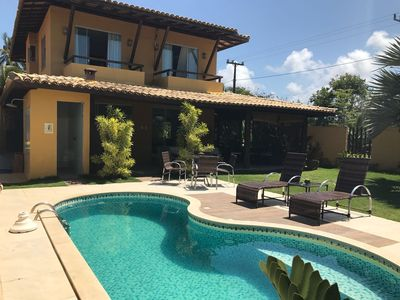 Photo for HIGH STANDARD HOUSE 70 M FROM THE BEACH WITH POOL AND BARBECUE
