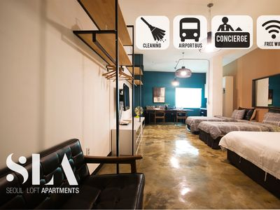 Photo for ★SLA★18. Family Suite Loft (Monthly Discount/DDP)