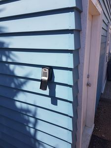 The lock box you use to gain entry