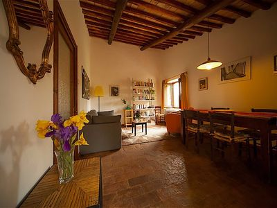 Photo for Casa Desiderio, in Podere Porcino, romantic apartment on the hills