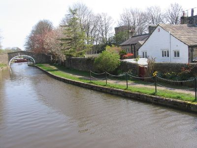 Photo for LUTINBELL COTTAGE with direct access to the Leeds Liverpool Canal