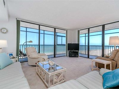 Photo for Shores of Madeira 205, 2 Bedrooms, Beach Front, Pool, WiFi, Sleeps 6
