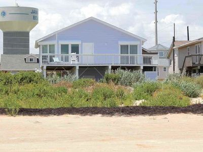 Photo for Beach Front Home in Family Friendly Jamaica Beach -  Incredible Beach Views!