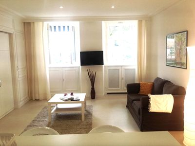 Photo for Splendid quiet studio in central 5 min walk from beaches with parking