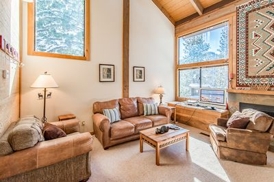 Living Room - Welcome to Truckee! Your rental is professionally managed by TurnKey Vacation Rentals.