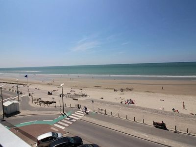 Photo for Beachfront apartment, 2 bedrooms, for 5 people in HARDELOT BEACH.