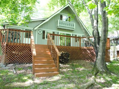 Photo for 3BR Chalet Vacation Rental in Pocono Lake, Pennsylvania