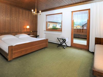 Photo for Double room with balcony - Pension Matt