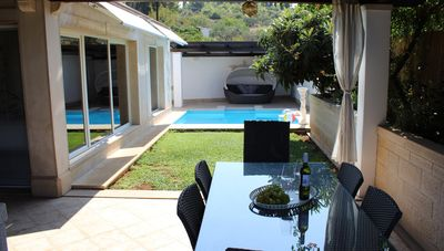 Photo for villa orange sutivan -  pool-jacuzzi,kids playground,garden with vegetables