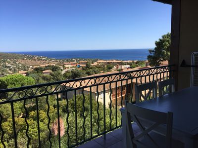 Photo for Le Hameau Belle Terrasse with a Magnificent Sea View