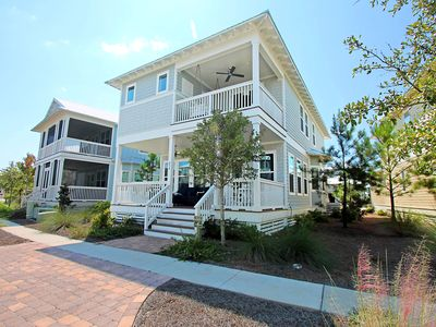 Photo for 3 MASTER SUITES! Heated Pool~4 Bikes,Bike to Beach ~ The Laughing Place at NatureWalk 30A