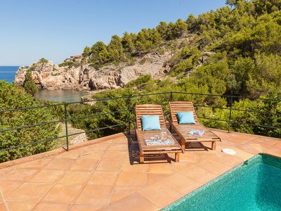 Photo for Villa for 6 people 2 mins. Walk to Cala Deia