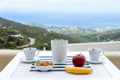 Enjoy your Breakfast with a view