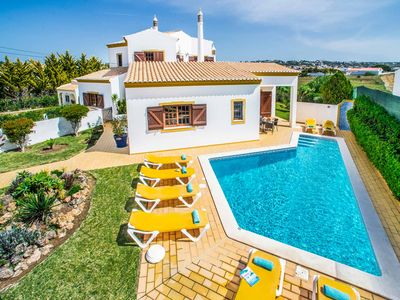 Photo for Villa Monte Galego - Short walk to the blue flag beach, WI-FI & A/C included