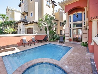 Photo for Luxury Beachfront Home! ~ Private Pool ~ Amazing Gulf Views