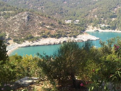 Photo for villa surrounded by greenery, relaxation, sea and fun