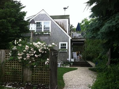 Photo for Love of My Life! Wonderful, Secluded Nantucket Cottage