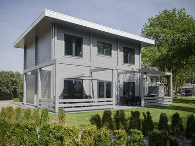 Photo for 10-person villa in the holiday park Landal Mooi Zutendaal - in the woods/woodland setting