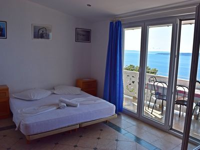 Photo for Apartment no.7 with terrace and sea view