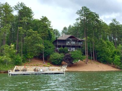 Photo for 5 BR, 4 BA, Great Views, Quiet Cove, Sleeps 10