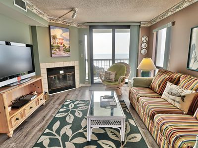 Photo for Waterpointe1 0407 - Ocean Front - Windy Hill Beach