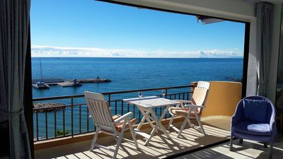 Photo for MARBELLA BEACHFRONT PENTHOUSE STUNNING VIEWS COAST/MARINA/BEACH 2B 2B PARKING