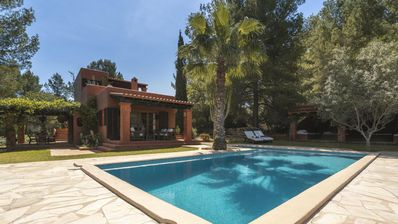 Photo for Cana Lúa. Charming Villa With Fantastic Sea View And Sunset