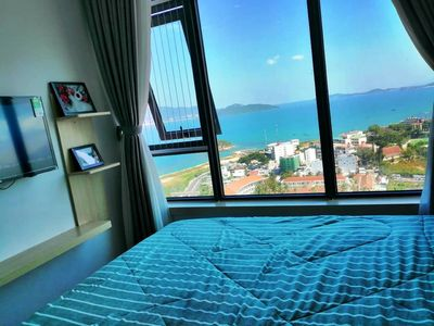 Photo for Amazing view with the mixed from ocean and city