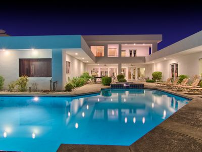 Photo for 7800sf Contemporary  Villa With Basketball & Tennis Court