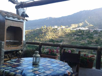 Photo for Typical house Canaria, Tejeda with all amenities.