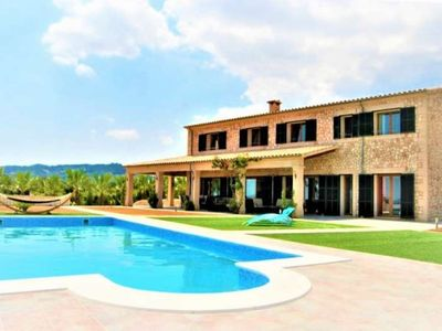 Photo for ES VINYET- Finca Rustica 12 pax in Petra- MALLORCA- 7 bedrooms. 8 bathrooms. Private pool. BBQ -00047- - Free Wifi
