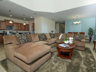Photo for Lovely 5 Bedroom 5 Bath Pool Home In Paradise Palms Resort.2954BUCC.