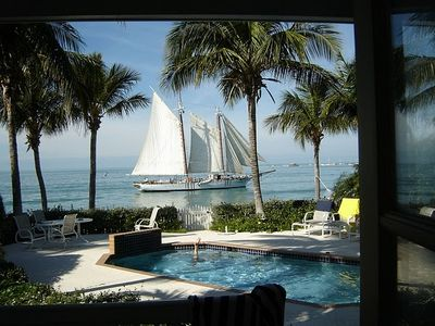 Photo for Beach house exclusive private resort island 500 yards from heart of Key West