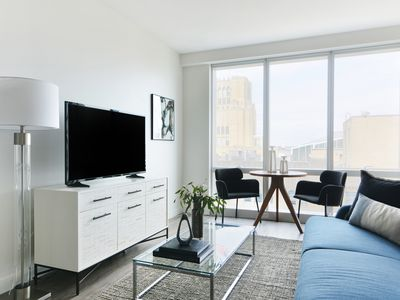Photo for Sonder | Pierce Boston | Bright 1BR + Gym