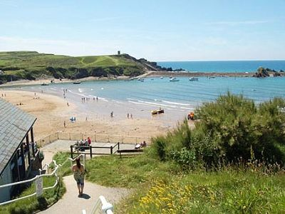 Photo for Apartment In Bude Town Beach Resort, Garden, Short Stroll To Beach, Dog welcome