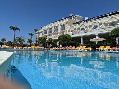 Photo for Perfectly Located 2 bedroom apt, ideal for family or friends. Swim, Sun,Golf