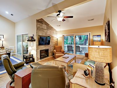 Living Area - Welcome to Isle Of Palms! This beautifully renovated villa is professionally managed by TurnKey Vacation Rentals.